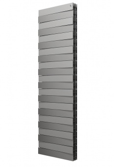 Вертикальный радиатор Royal Thermo PianoForte TOWER Silver Satin
